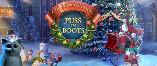 Christmas Stories: Puss in Boots - Enjoy this high quality holiday themed hidden object game that's full of memorable moments.