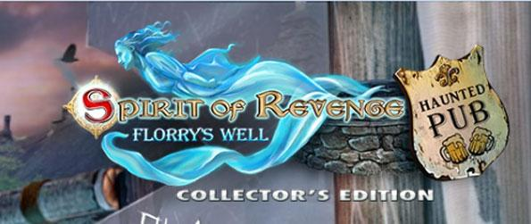 Spirit of Revenge: Florry's Well Collector's Edition - Dive into a Hidden Object mystery that tells you an unforgettable tale.