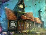 Queen's Quest 2: Stories of Forgotten Past approaching a strange house