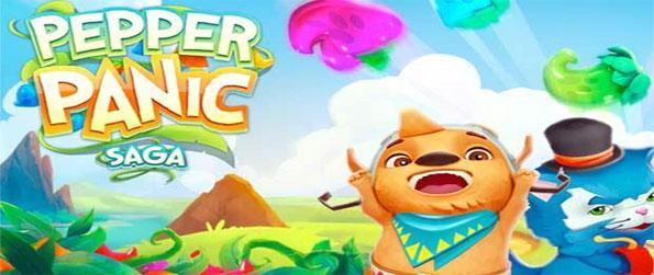 Pepper Panic Saga - Jogue a marca fabuloso jogo 3 novo no Facebook dos fabricantes de esmagamento Doce.