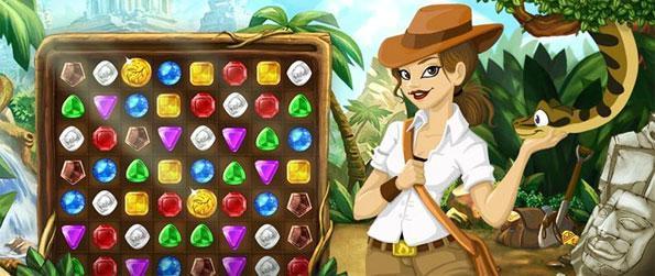 Jungle Jewels - Combine as gemas junto e ganhar grandes jackpots neste novo jogo Facebook.