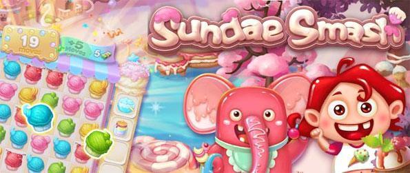 Sundae Smash - Desfrute de diversão Ice Cream temático jogo 3 jogo com um toque doce.