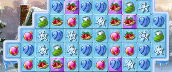 Perfect Tree - enjoy a christmas themed match 3 game with lots of fun twists.