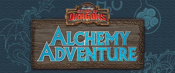 School of Dragons: Alchemy Adventure - Enjoy a fantastic match 3 game for children, with a lot of fun and learning with the dragons from School of Dragons.