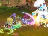 Boss raid in Dragonica Online