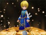 Kurapika recruited in Hunter X Online