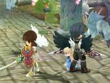 Surrounded by monsters in Celestia Luna Online