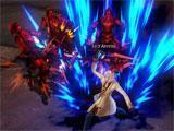 Mage gameplay in Kritika Online