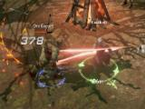 Performing a powerful skill in Lineage 2: Revolution
