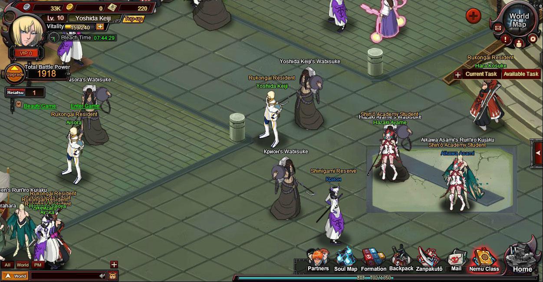 Bleach Online Boss Fight Bleach Online Human World