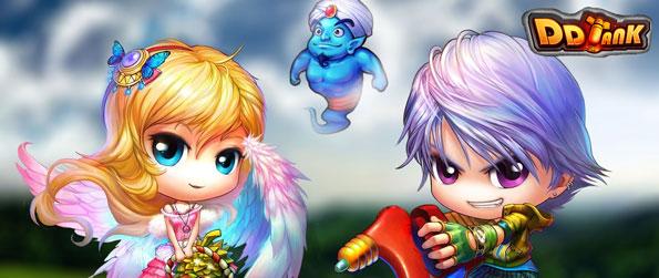 DD Tank - Enjoy a cute and fun MMORPG where you become a great hero.