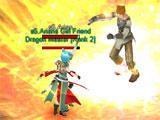 Boss fight in SAO's Legend