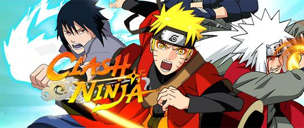 Clash of Ninja - Become the best ninja in the whole of Konoha in this amazing Naruto-themed MMORPG, Clash of Ninja!