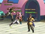 Dragonball Z Online exploring the world
