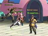 Dragonball Z Online exploring the world