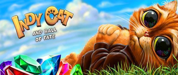 Indy Cat -    E?er kedi bu ?a??rt?c? yeni Facebook Oyunu Kader Ball elde Indy yard?mc? olarak harika bir maç 3 oyun keyfini ç?kar?n.