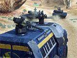 Planetside 2 riding in an armored vehicle
