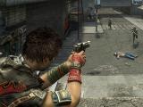 Shooting enemies in CrimeCraft: GangWars
