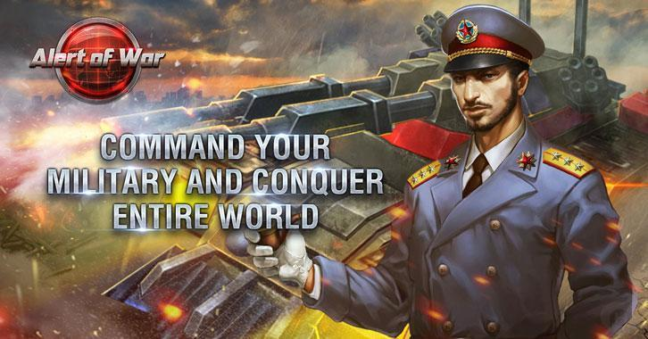 Conquer the World – Alert of War Officially Launches on June 5th
