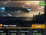 Mission Page in Stardrift Empires