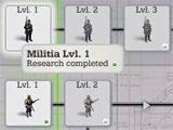 Research tiers in Call of War 1942