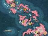 Battle map in Call of War 1942