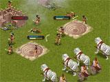 Combat gameplay in Rage War
