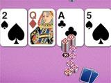 Royal Texas Poker gameplay