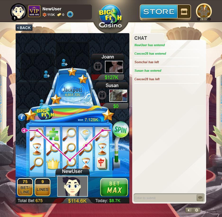 Big fish casino poker worldz for Fish game gambling