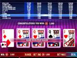 Ruby Seven Video Poker Classic Poker