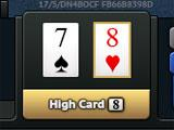 Poker World Tour High Card Hand