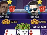 Gameplay in Jackpot Poker by PokerStars