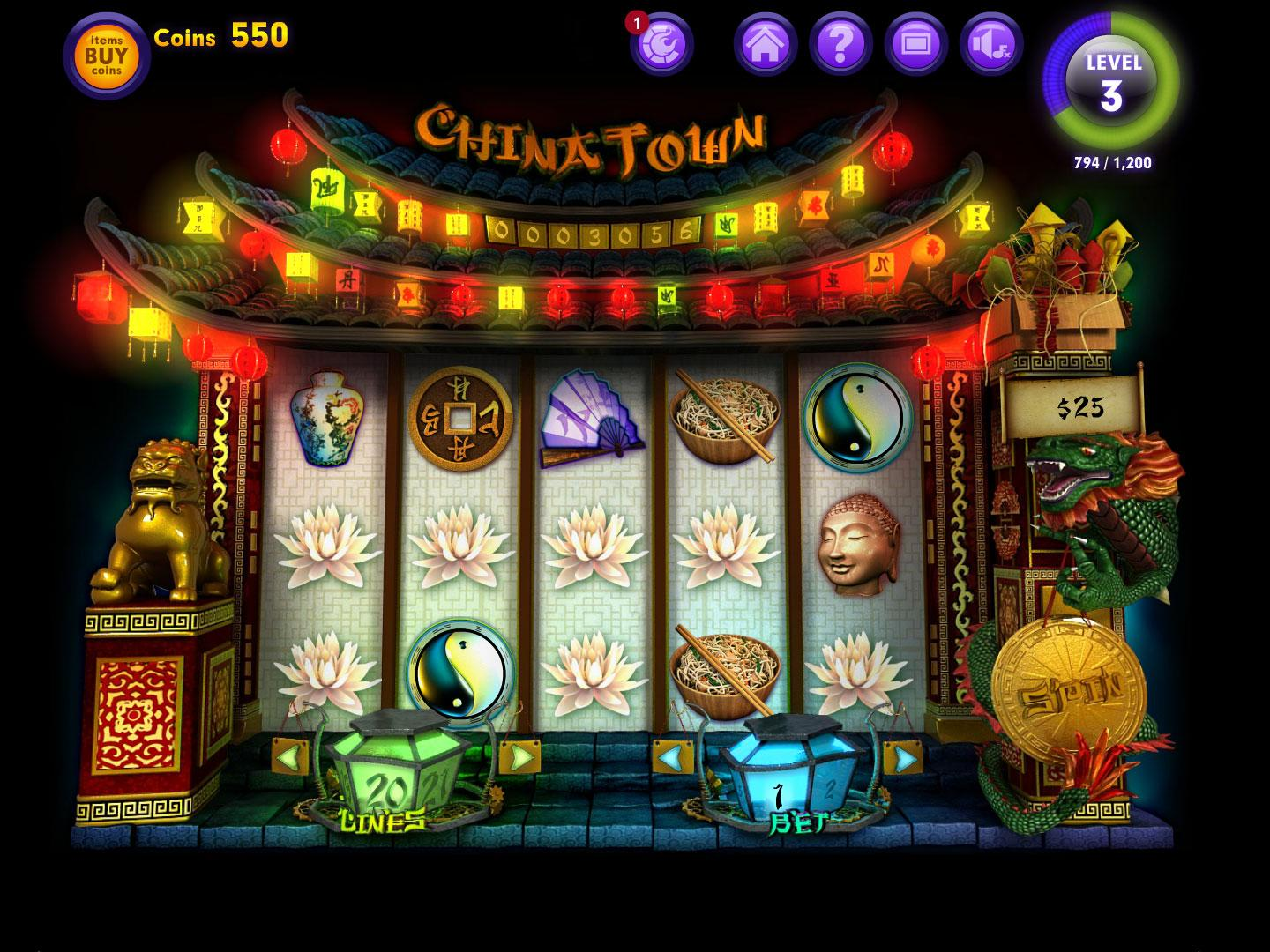 China Style Slot Machine - Play 777igt Games for Fun Online