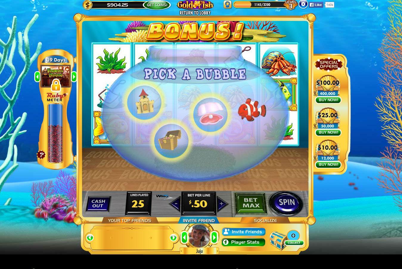 Gold fish casino slots slots bingo games for Gold fish casino