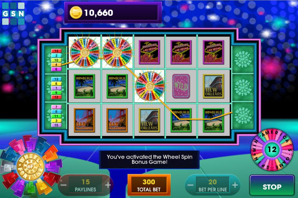 How to play wheel of fortune slots in vegas
