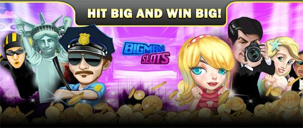 Bigman Slots - Try Bigman Slots and see if you can win big on stunning machines!