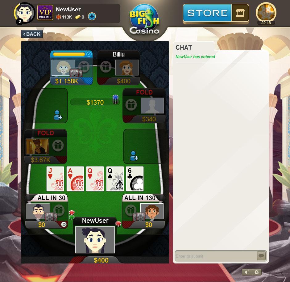 Big fish casino slots bingo games for Big fish casino reviews