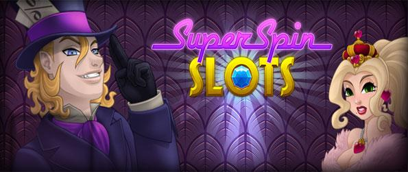 Super Spin Slots - Enjoy a fantastic new slots game full of fully animated 3D machines, free on Facebook.