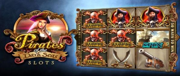 Pirates of the Dark Seas - Enjoy a fun and unique slots experience with an amazing theme.