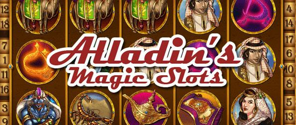 Aladdin's Magic Slots - Alladin's Magic Slots is an addictive Facebook based slots game that compiles a decent variety of wonderfully designed and presented themed slots.