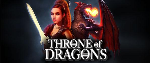 Throne of Dragons - Enjoy a magnificently designed slots game collection, showcasing different dragons to fetch you tons of luck and winnings over its reels.