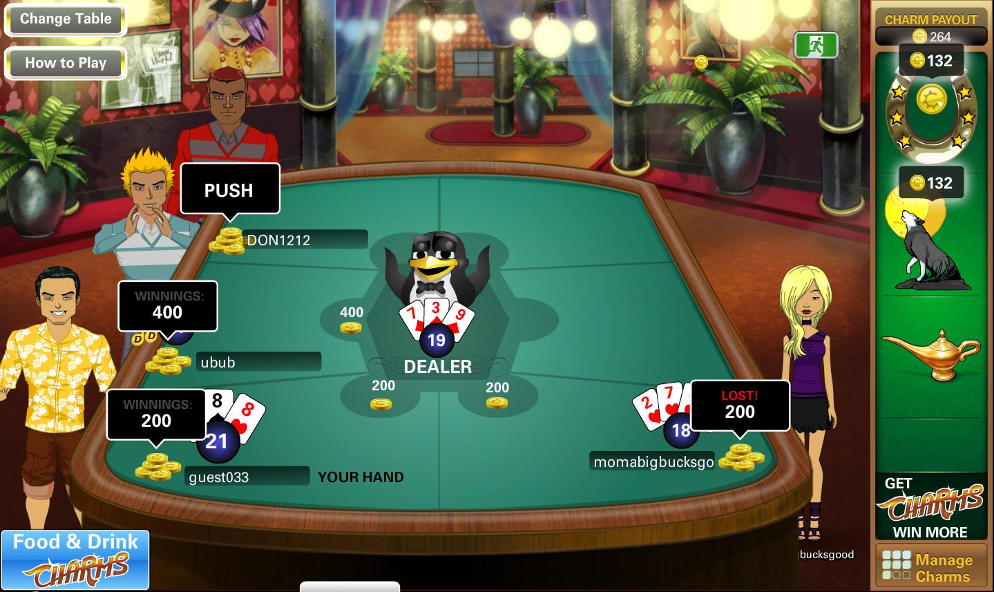 Virtual blackjack table - The Blackjack Table In Vegas World