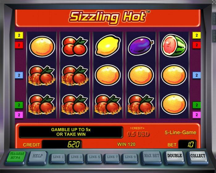 sizzling slot games