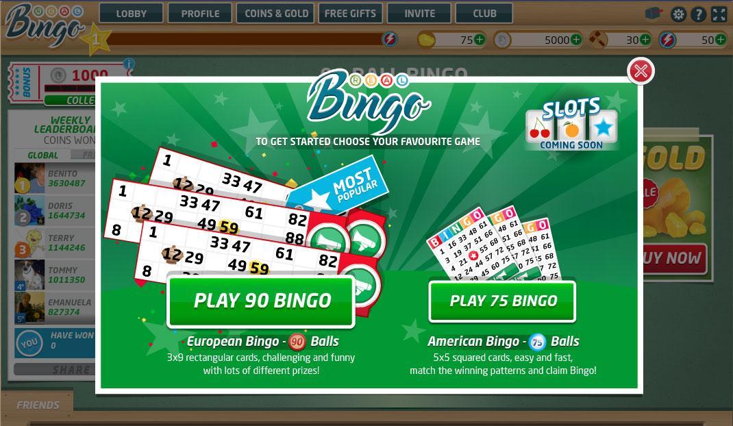 real bingo