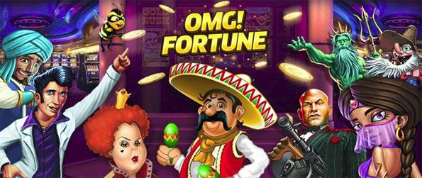 OMG Fortune Slots - Enjoy this awesome slots game where the winnings are big and the stakes are high.