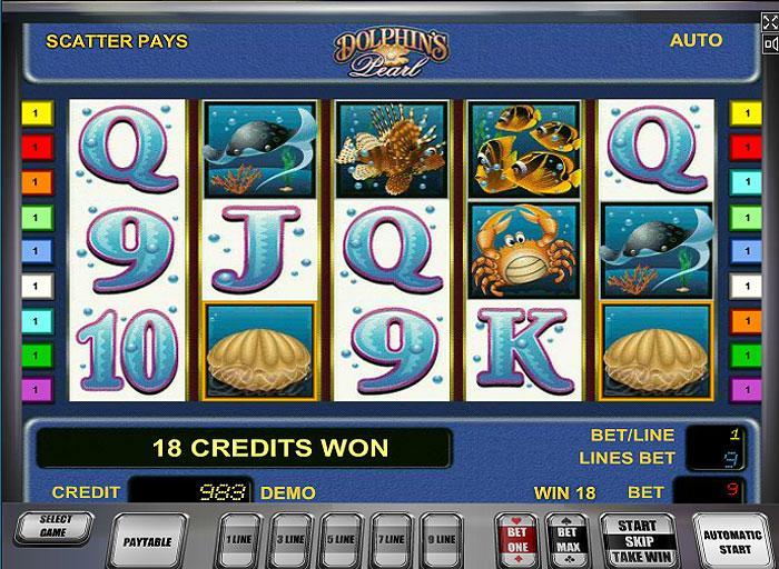 dolphin pearls slot gratis de casino