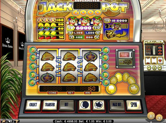 Play Jackpot 6000 VIP - Slots at CasinoEuro