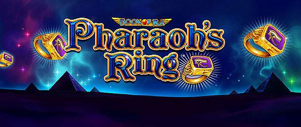 Pharaoh's Ring Slots - Take a shot over a unique slots gambling experience, showcasing ancient Egypt artifacts in its icons and reels in Pharaoh's Ring Slots.