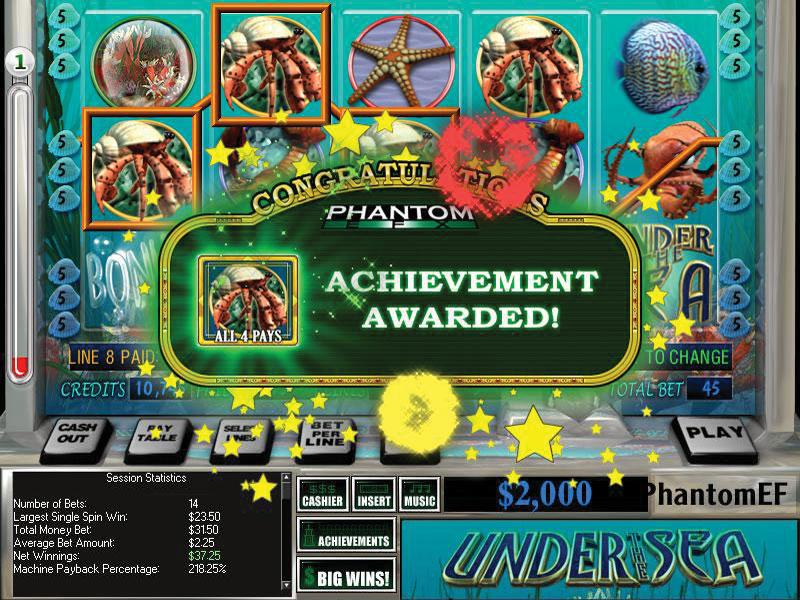 Free Under the Sea Slots