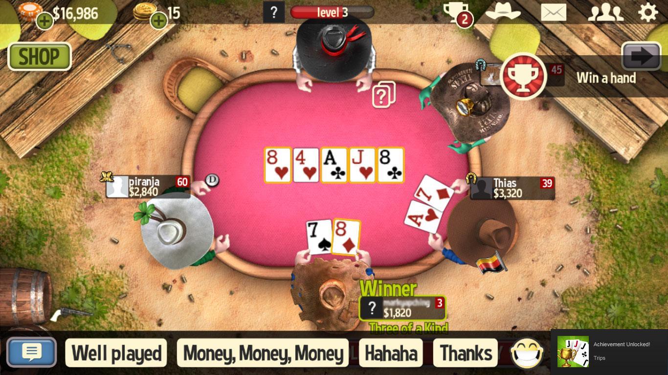 Jeu governor of poker 3